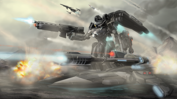 Aegis Assault by Nymbryxion101
