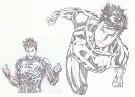 SUPERBOY by timothygreenII