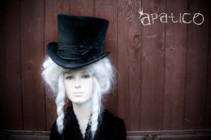 Deconstructed Black Top Hat by apatico