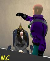 Luthor Hypnotizes Lois Lane by The-Mind-Controller