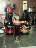 Layered Shot- Baby Guinness by OkamiArtist