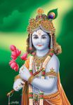 Krishna by satishverma
