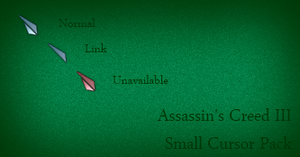 Assassin's Creed III Small Cursor by Cyberdyne12489