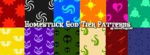God Tier Pattern Textures by IceVolvagia101