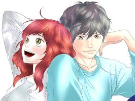 Ao Haru Ride by jankumiko