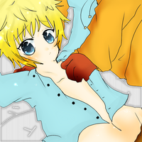 Kenny x Butters :3 by Naru-nyan