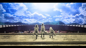 Shingeki no Kyojin Wallpaper by serekenha
