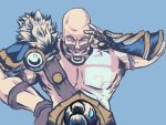Stay behind Braum! or be scared of him. by AlmaZen
