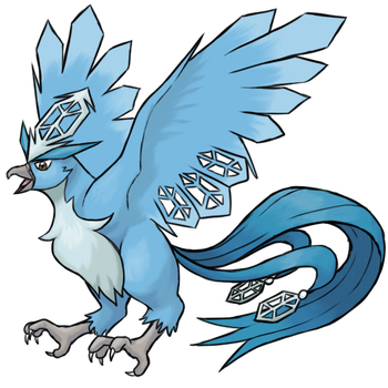 Mega Articuno by TheCompleteAnimorph
