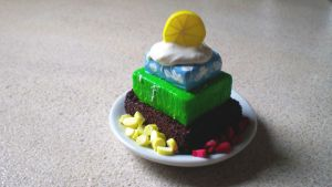 SemiSweeties DFC: Nature Cake by Petite-Treats
