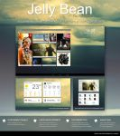 Jelly Bean - A complete theme for Rainmeter by virgiles