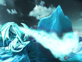 Ice dragon by lifizzell