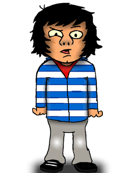 Caricature of friend by Young-Freddy