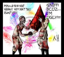 VALTIEL COMFORTS PYRAMID HEAD by macawnivore