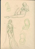 Mannequin studies by Arwin-Rand
