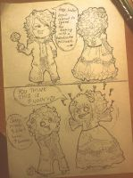 #Chibi Versailles. Hey, babe. by Matthew-Ray