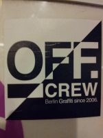 Off. crew - Berlin Graffiti since 2006. by BerlinPelicanMotion