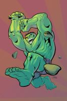Hulk Smash by Inkpulp