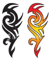 Flame Tattoo Designs by distillazkazz