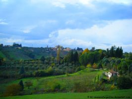 Near Siena by Cansounofargentina