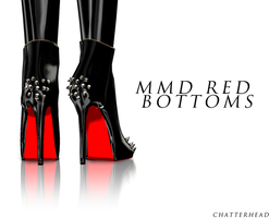 mmd red botoms by chatterHEAD