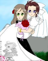 ::+Hetalia-HunAus-Marriage+:: by Apple-Rings