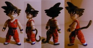 Dragonball Goku red suite cstm by pgv