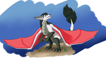 Commision: Silent taking off by Dracorde
