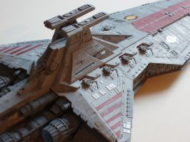 Republic Star Destroyer detail by obihahn