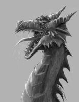 Angry-dragon-lost-his-favorate-pencil by maugryph