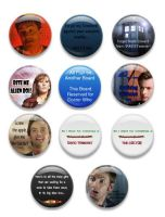 Doctor Who Flair 1 by Reecie