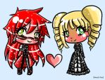 -Lizzy x Grell- by ArTLoVer4LiFe