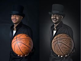 Carmelo Anthony by yalanrei