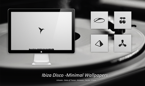 Ibiza Disco Minimal Wallpaperpack by FloStyler0408