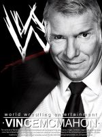 Vince Mcmahon by findmyart