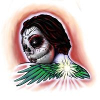 day of the dead design by dv8ordeath