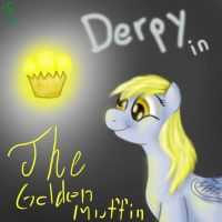 Derpy and the golden muffin by MrSmiles14