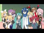 lucky star-vocaloid crossover by shaymin321