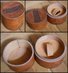 Leather box for a watch by simoniculus