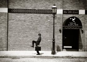 Silly Walks by my Local by CarRiganArts