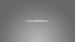 """Think different"" Wallpaper by CookieAgent"