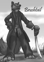 Brushtail Cover by BlackthornPubl