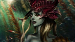 Coral Reef Nami by WikiMia