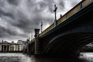 Southwark bridge by daliscar