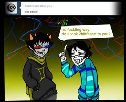 Ask John Egbert 70 by LeijonNepeta