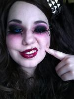 Blind Mag makeup from Repo! The Genetic Opera. by Kabuki-Bunny