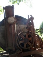 Steampunk Machinery Stock Image by AskGriff