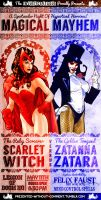 Zatanna Vs Scarlet Witch by Wonder-Heroics
