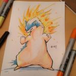 pkmn of the day- it's hot in here by ExShen