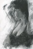 finished charcoal study by derekjones